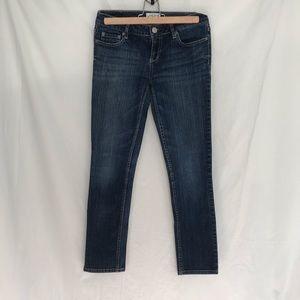 4/$25 Aeropostale blue skinny jeans